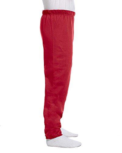 - JERZEES Mens NuBlend Sweatpant, 2XL, True Red