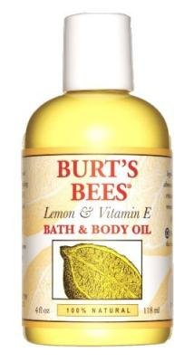 Burt's Bee's Lemon & Vitamin E Bath & Body Oil 4 oz. (Pac...