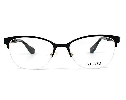 8c1c6761416437 Guess - Monture de lunettes - Femme Noir matt schwarz - gold XXS ...