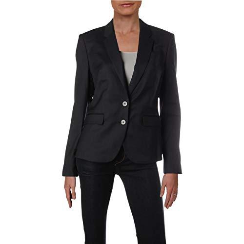 Hugo Boss BOSS Womens Jylana Work Wear Office Two-Button Blazer Navy ()