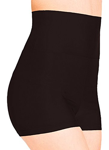 VSVO Adult Black Lycra High Waist Shorts (Small, Black) (Sexy Gay Halloween Costumes)