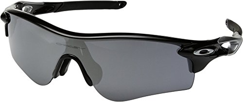 Oakley  Men's Radarlock Path Black With Black Iridium One - Oakley Sunglasses Radarlock