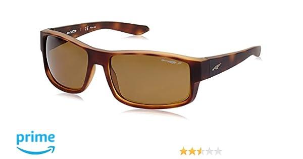 432a6fc1fc Arnette Men s Boxcar Polarized Rectangular Sunglasses FUZZY HAVANA 59 mm