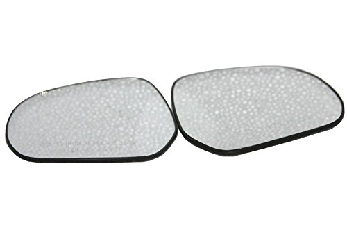 Enfield County Maruti Suzuki Ritz Left & Right OrVM Convex Wing Door Glass with Base Plate