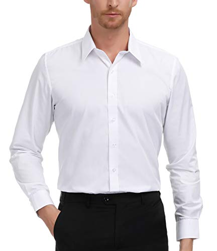 Cheap Dressing Up - PAUL JONES White Formal Shirts for