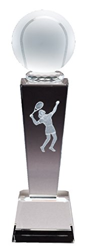 Female Tennis Trophy with Free Engraving (Customize Now!)