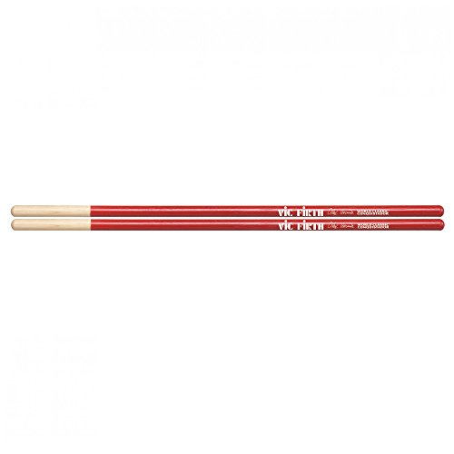 Vic Firth World Classic -- Alex Acuña Conquistador (red) timbale (Drum Set Timbale)