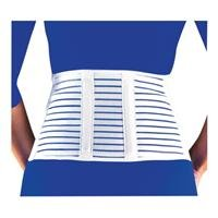 Lumbar Sacral Support Vented Back Pain 7 In. Cool Lightweight Brace LARGE