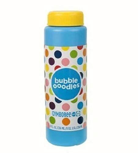 Gymboree Bubble Ooodles Refill - 8 Ounce Container Either Blue Or White (Gymboree Bubble Ooodles With Wand And Tray)
