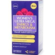 Ultra Mega-Energy & Metabolism de GNC femmes