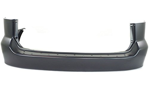 New Evan-Fischer EVA17872026594 Rear BUMPER COVER Primed Direct Fit OE REPLACEMENT for 1999-2004 Honda Odyssey *Replaces Partslink HO1100189
