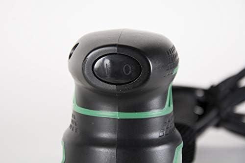 Includes 5 Pieces of Sanding Paper 5-Year Warranty Variable Speed Metabo HPT SV13YST 5-Inch Random Orbit Sander Soft Elastomer Grip Powerful 230W 2.8 Amp Motor Dust Bag Vacuum Adapter
