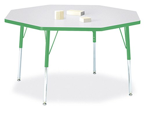 - Berries 6428JCA119 Octagon Activity Table, A-Height, 48