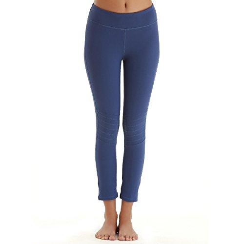YAHA Women's 7/11 Medium Waist Tights Yoga Pants Workout Leggings