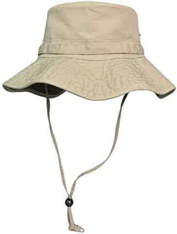 b66de6da Phaiy Men's Sun Hat Packable Summer Wide Brim UV Protection Safari Hats