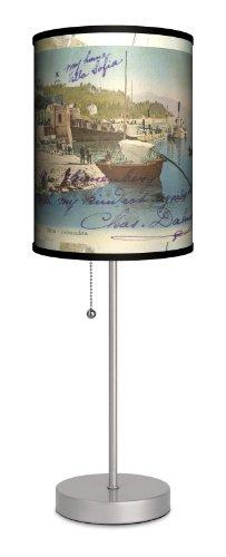 Travel - Villa Sofia Sport Silver Lamp by Lamp-In-A-Box