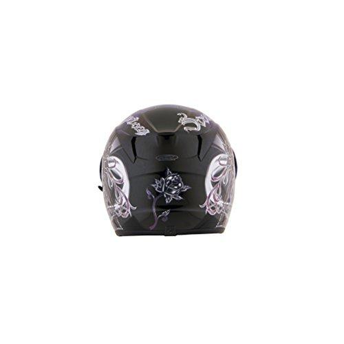 Scorpion EXO-R410 Orchid Black Full Face Helmet - 2X-Large