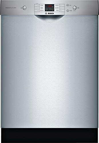 "Bosch 24"" 100 Series Stainless Steel Dishwasher"