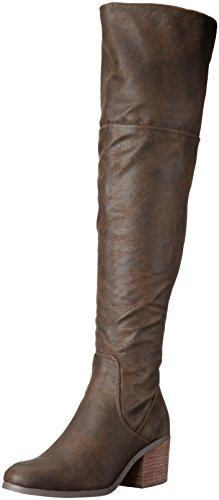 Report Women's Fisher Riding Boot, Brown, 7.5 M US