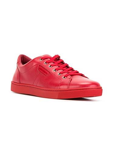E Uomo Rosso Dolce Gabbana Pelle Sneakers Cs1362a344480303 4SwqndvxB