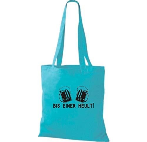 Para Bolso Blue Shirtinstyle Sky De Algodón Tela Mujer aIxxZnvw