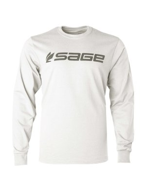 Sage Long Sleeve Tee - Sage Fly Fishing Logo Tee Long Sleeve Shirt