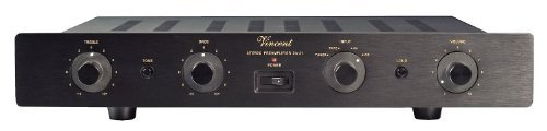 Vincent Audio - SA-31 Hybrid Stereo Preamplifier - Black