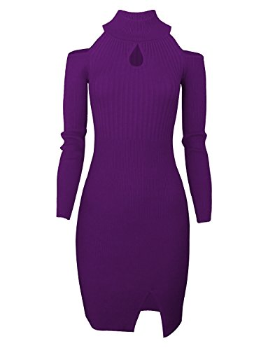 Tom's Ware Women Casual Slim Fit Knit Front