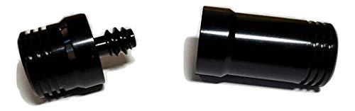 Aluminum Alloy Joint Protector Caps for Billiard Pool Cue Sticks (3/8x10)