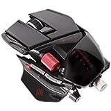 [Win8/Mac 対応] R.A.T. 9 マウス プレミアム多機能レーザー ブラック 2.4GHzワイヤレス 長さ、幅、高さ、重さを変えられるトランスフォームメカ搭載 (MC-R9-BK)