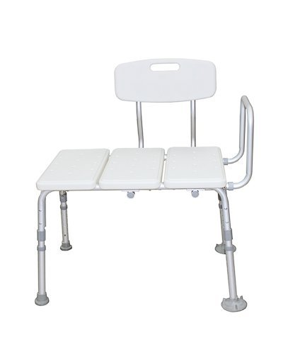 Bath Molded High Blow Bench (BodyHealt Adjustable Height Tub Transfer Bench With - Suction Cups To Provide Added Safety)