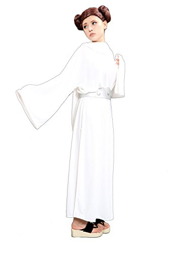 Deluxe Princess Leia Costume Dress Outfit for Halloween Costume Custom (Custom Princess Leia Costumes)