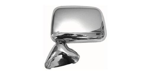 89-95 TOYOTA PICKUP Chrome Manual Mirror LH DRIVER