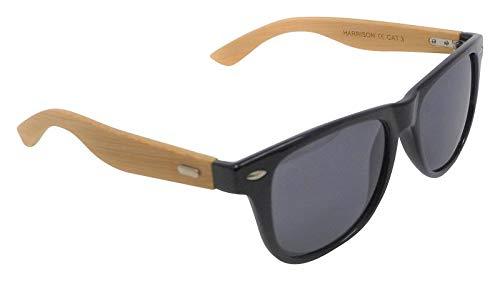 Harrison - Gafas de sol polarizadas con lentes de color gris ...