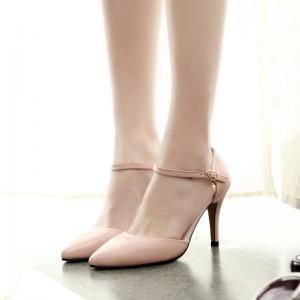 Rosa mujer hexiajia Planos con Zapatos Cordones 4qPXwI1Px