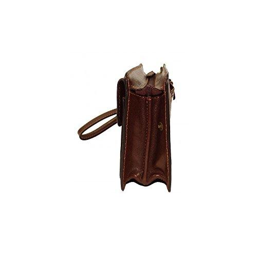 Charmoni - Bolso de asas para hombre marrón