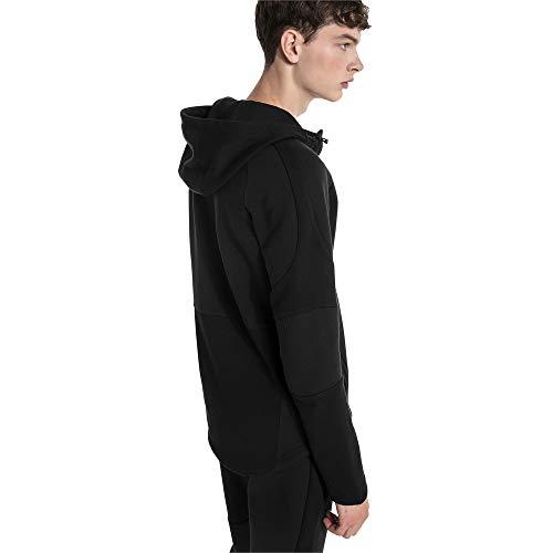 Hooded Move Sweat Capuche Homme Black Jacket Puma Evostripe À HC1wOO