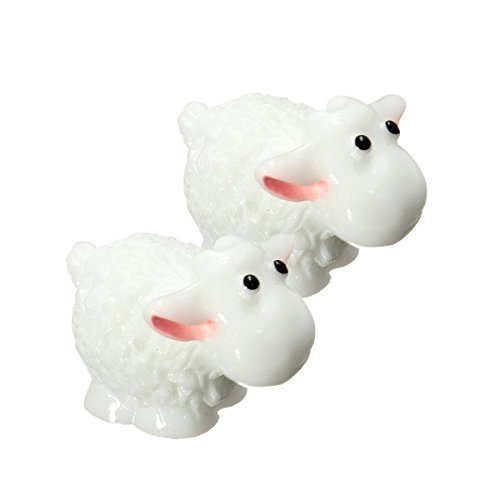COOLTOP 10pcs Miniature Fairy Garden Herd of Sheep (Style 3) ()