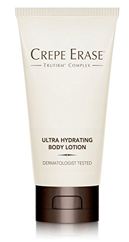 Crepe Erase – Ultra Hydrating Body Lotion – Non Greasy Plumping Treatment –Coconut Oil, Cocoa Butter, Jojoba Ester and TruFirm Complex – 2.5 Fluid Ounces – (Jojoba Oil Body Lotion)