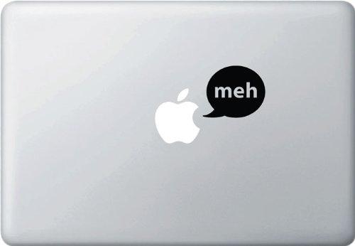 Speech Bubble - Meh - Graphic Vinyl Decal Sticker