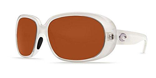 Costa Del Mar Sunglasses - Hammock- Plastic / Frame: Crystal Sand Lens: Polarized Copper 580P ()