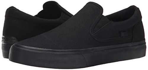 DC Shoes Men's Trase Slip-On TX Low Top Sneakers Negro 3