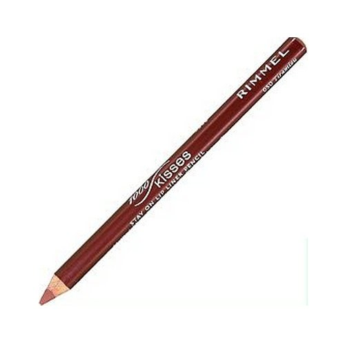 Rimmel Lasting Finish Kiss - (6 Pack) RIMMEL LONDON Lasting Finish 1000 Kisses Stay On Lip Liner Pencil - Tiramisu