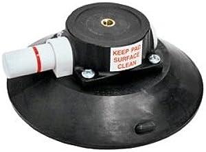 Woods Powr Grip Black 6 inch Vacuum Suction Cup Mount Base Female Thread