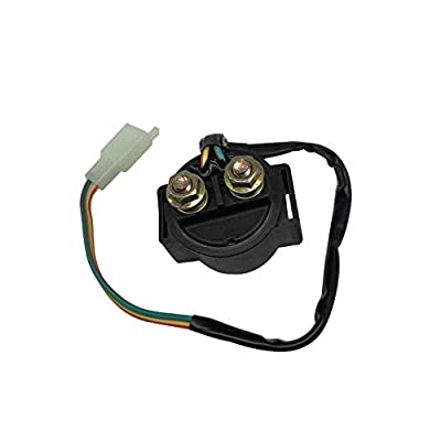 SHUmandala Starter Relay fit GY6 49cc 50cc 70cc 90cc 100cc 110cc 125cc 150cc Dirt Bikes Street Scooter Moped Chinese Go Karts ATVs Pit Bike Dune Buggy Sandrail Quad 4 Wheelers Roketa Taotao Coolster: Automotive
