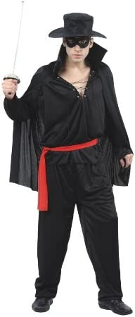 Humatt Perkins 51271 - Disfraz de el Zorro para hombre: Amazon.es ...