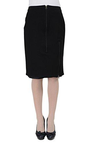 Maison Martin Margiela MM6 Women's Black Pencil Skirt US M IT (Martin Margiela Women Skirts)
