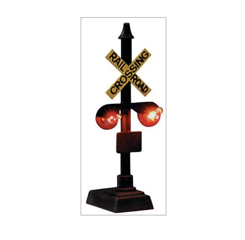 Model Power N Scale Railroad Crossing Signal, used for sale  Delivered anywhere in USA