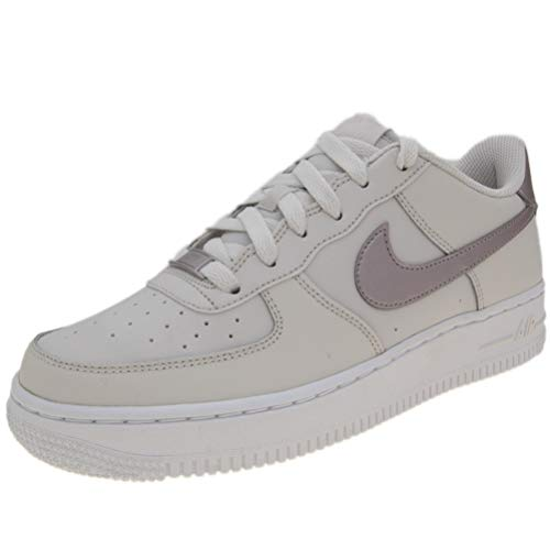- Nike Youth Air Force 1 Leather Synthetic Phantom Metalic Red Bronze White Trainers 6 US