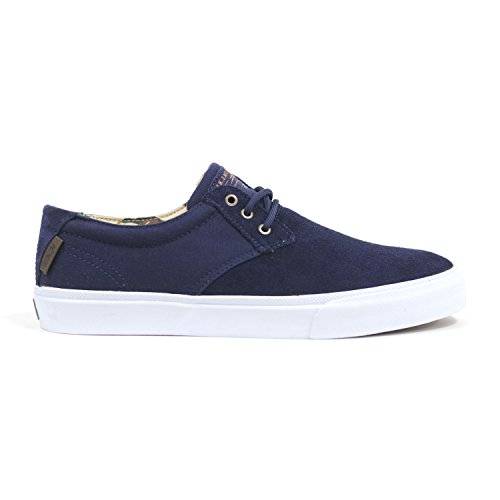 Lakai MJ Navy Suede Duck Mens Skateboarding Shoes Sz 11.5